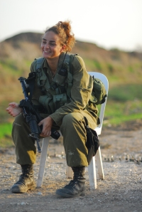 Cpl-Lolly-took-active-part-in-defending-Tel-Aviv-during-Operation-Pillar-of1