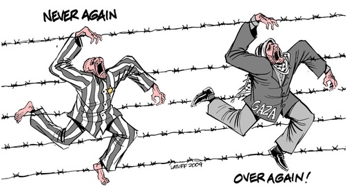 barbed wire jews