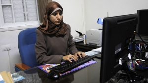 hamas female journalist